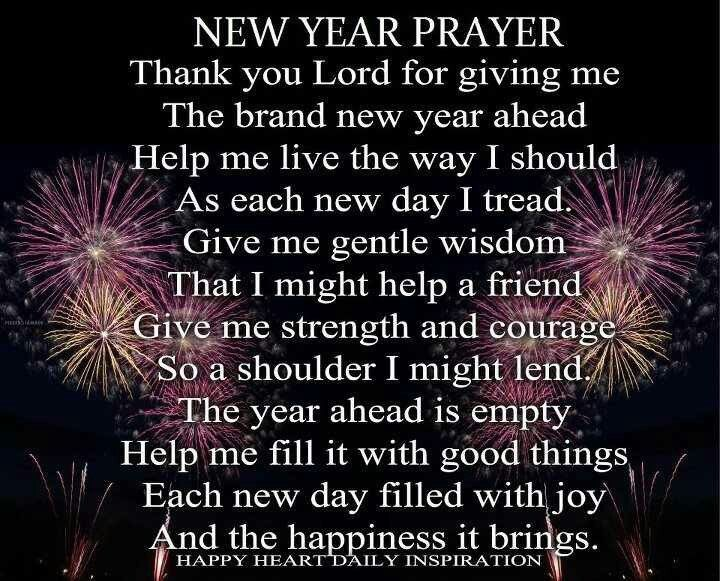 Pin by diana ashby on Prayers   New years prayer, New year ...