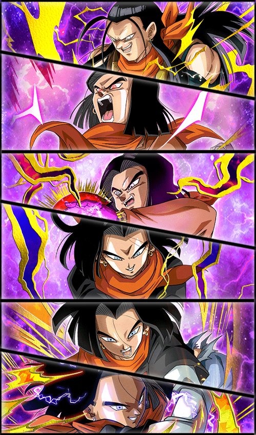 Android 17 01 Wallpaper By Zeus2111 Anime Dragon Ball Super Anime Dragon Ball Dragon Ball Z