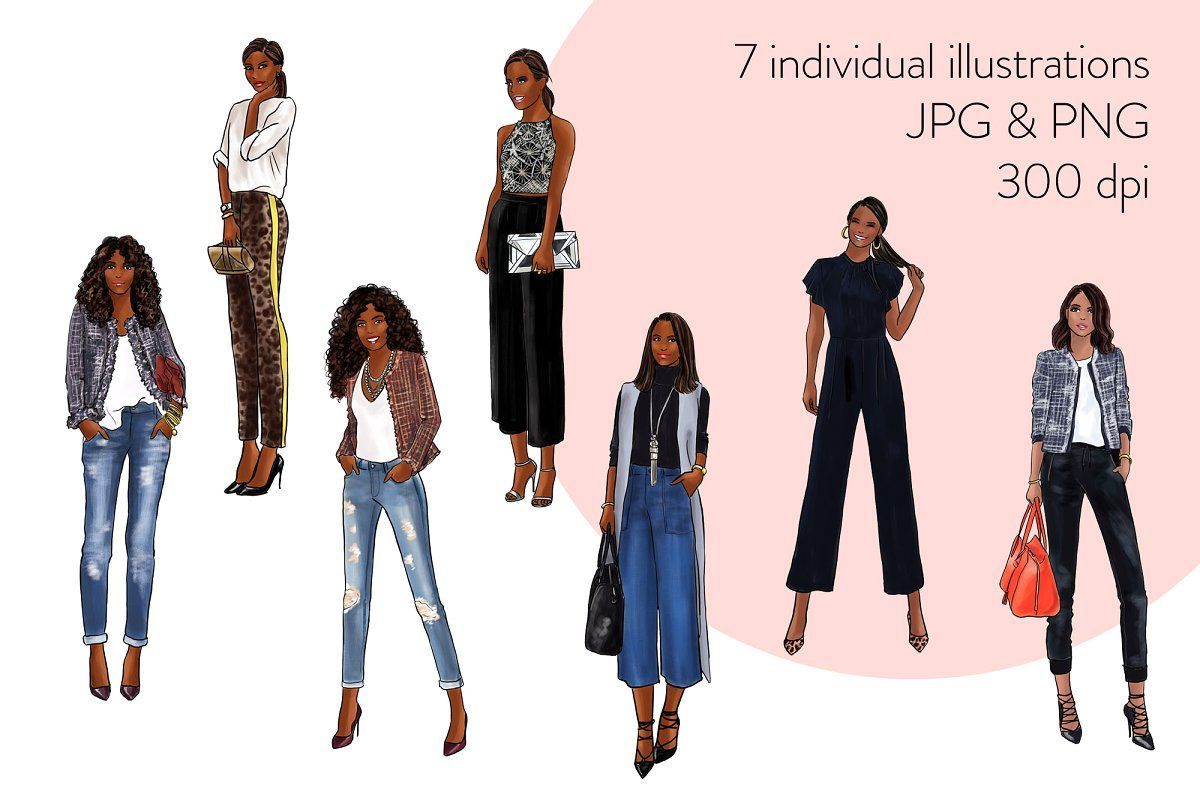 Fashion Girls 33 - Dark Skin , #AD, #drawn#hand#watercolors#illustrations #Ad #darkskingirls Fashion Girls 33 - Dark Skin , #AD, #drawn#hand#watercolors#illustrations #Ad #darkskingirls