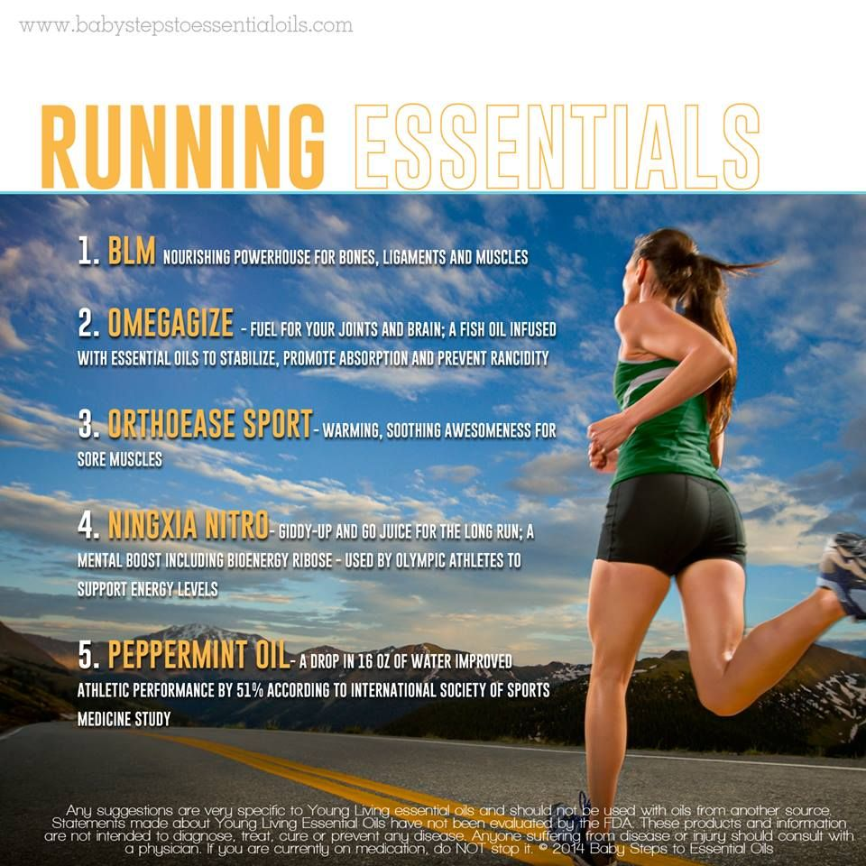 Young Living Essential Oils: Running Fitness Exercise