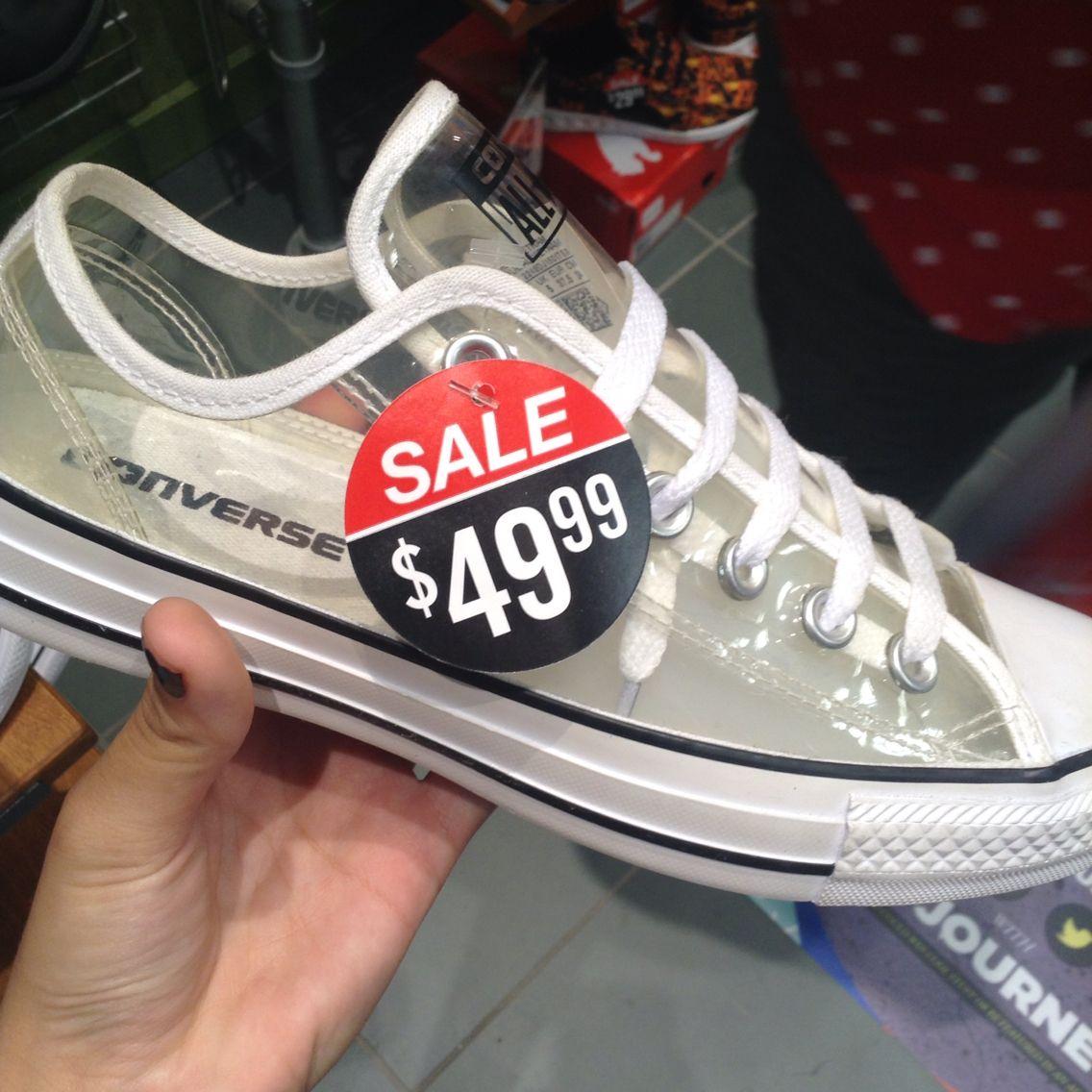 Clear plastic converse 😍 | Converse