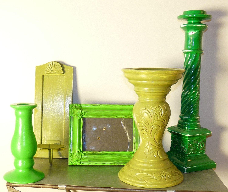 Green Home Decor, Back to School, Dorm Decor, Wall Decor, Shabby ...