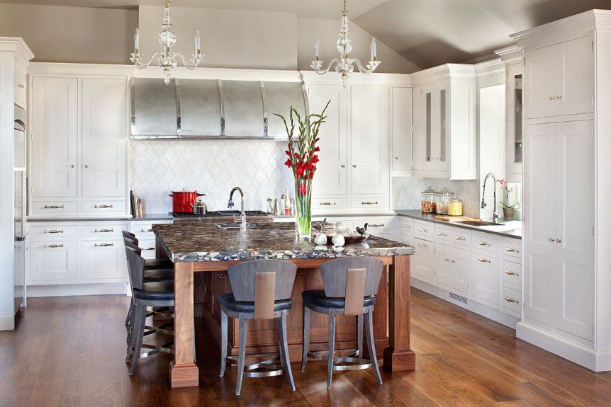 Kitchen Designers Chicago Beauteous Interiordecoratorschicago  A Transitional Style Kitchen With Inspiration