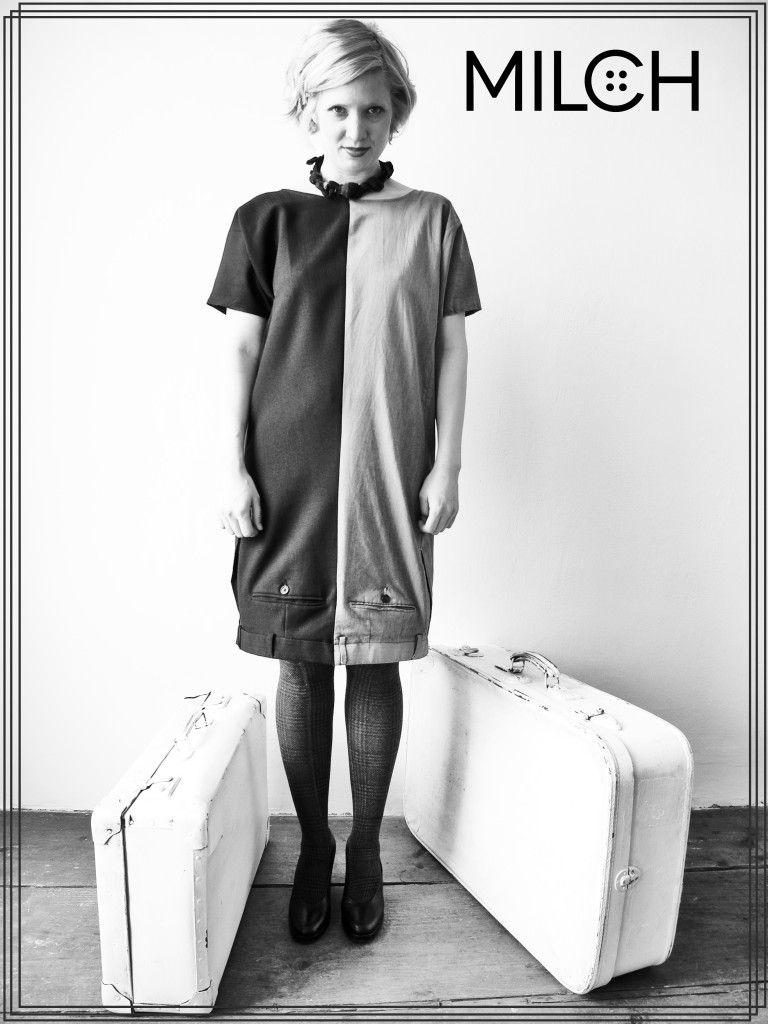 http://boutique.MILCH.tm kleid klara MILCH.tm | MILCH 100% UPCYCLING ...