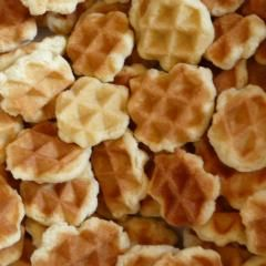 Photo of waffle cookies