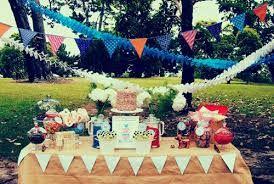 1st birthday outdoor party ideas