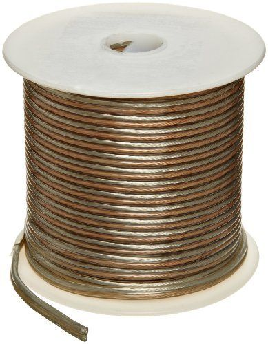 Speaker Copper Wire, Bright, Clear, 22 AWG, 0 0253