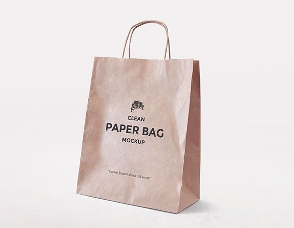 Download 20 New Free Mock Ups By Alienvalley Bag Mockup Paper Bag Design Paper Bag