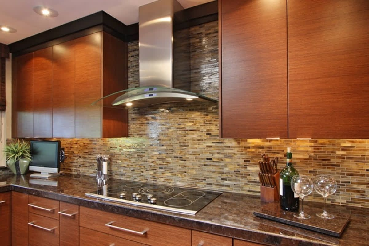 First Time Purchasing From Aquablu Mosaics And Am Impressed By The Exc Kitchen Backsplash Inspiration Kitchen Inspiration Design Contemporary Kitchen Cabinets
