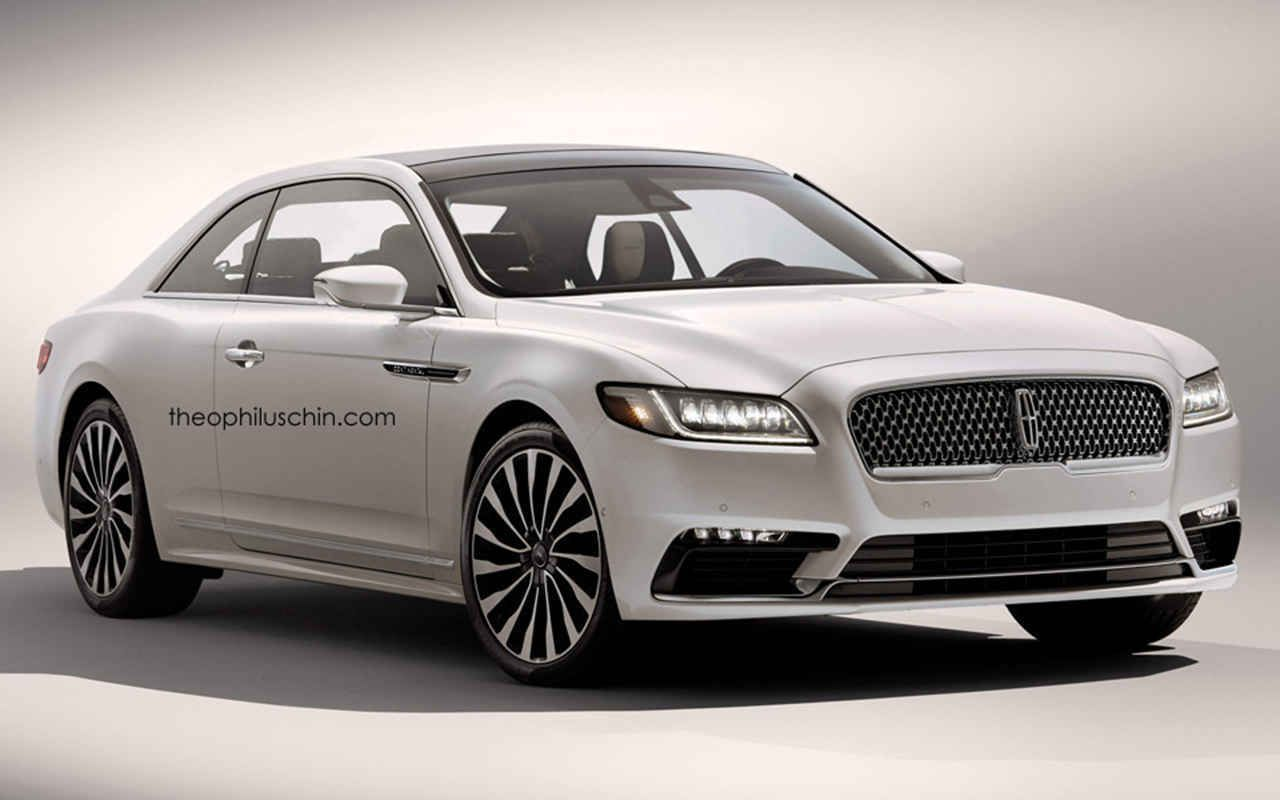 2018 lincoln coupe new design rendering