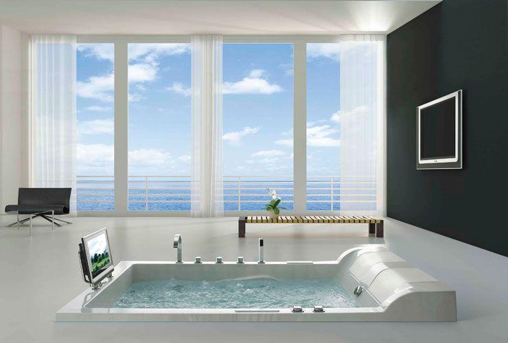 Recessed Whirlpool Massage Bathtubs Is A Nice Sunken Bathtub That