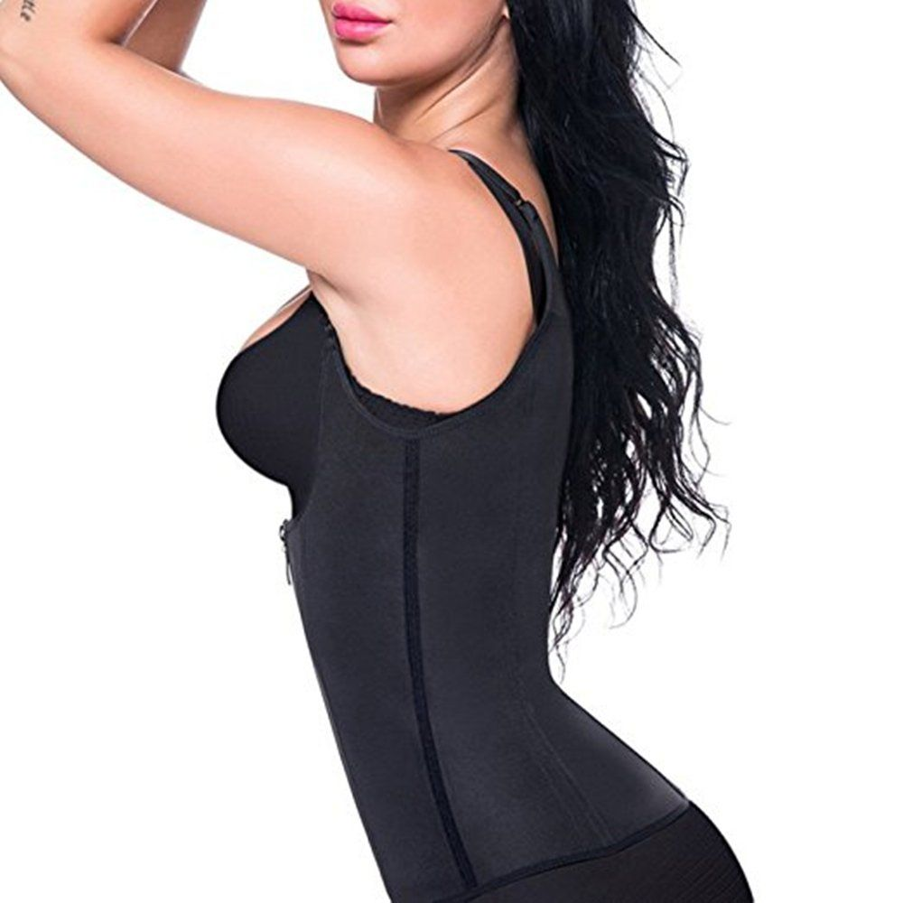 40490b475c23d FOMANSH Sauna Waist Trainer Corset Vest Women Shapewear Tummy Control Body  Slimmer for Weight Loss   Check this awesome product by going to the link  at the ...