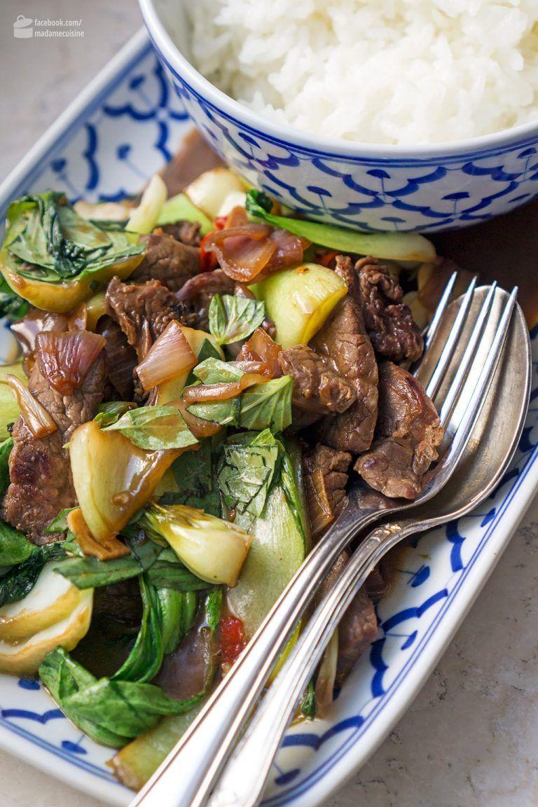 Photo of Asiatisches Rind mit Pak-Choi und Chili – Madame Cuisine