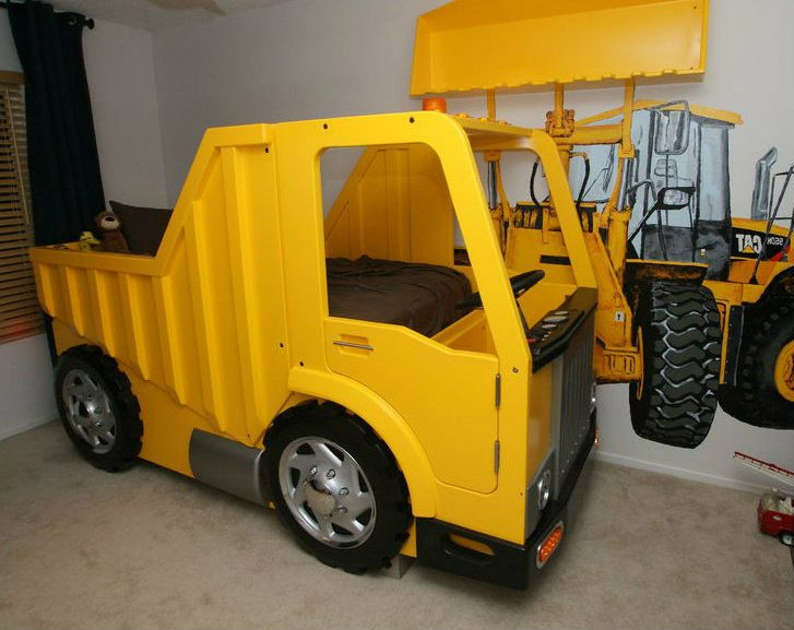 Dump Truck Toddler Bed : Dump truck bed ohh baby pinterest toddler