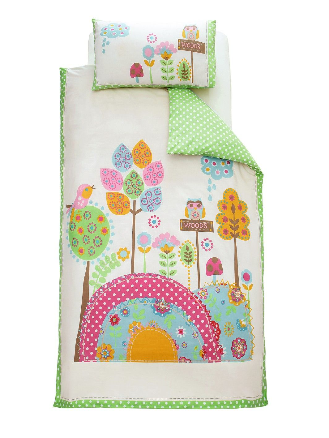Ladybird Village Kids Single Duvet Cover And Pillowcase Set Woolworths Co Uk