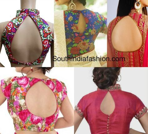 Top 8 Most Trending Blouse Back Neck Designs For 2017 South India Fashion Back Neck Designs Neck Designs For Suits Kurti Back Neck Designs,Designer Skin Tanning Lotion
