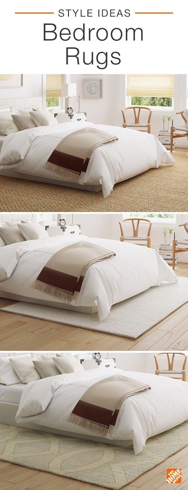 Transform the look of your bedroom with a stylish area rug choose