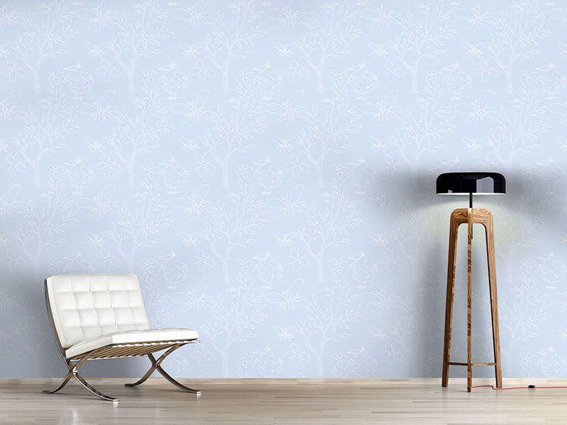 Design #Tapete Kristall Naiv