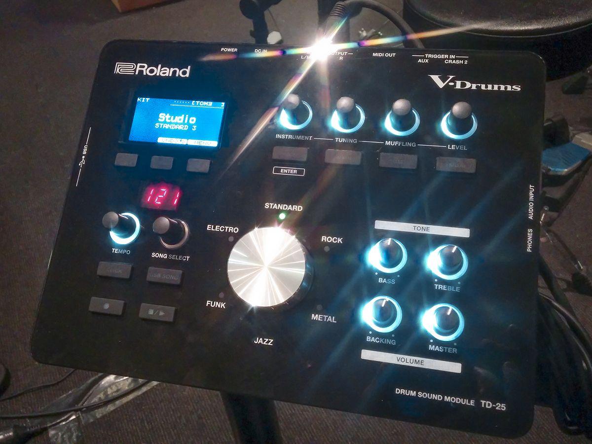 Module on the new Roland TD-25KV V-Drums #roland