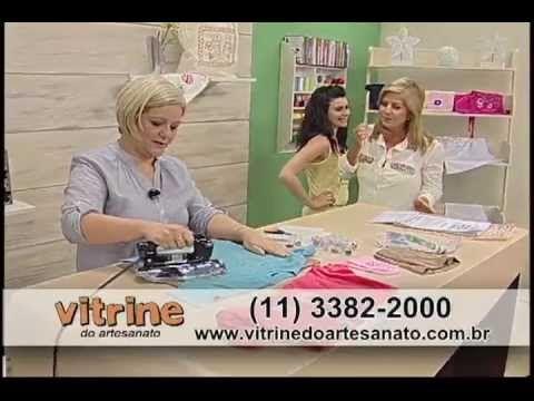Regata Corujinha com Valéria Souza - Vitrine do Artesanato na TV
