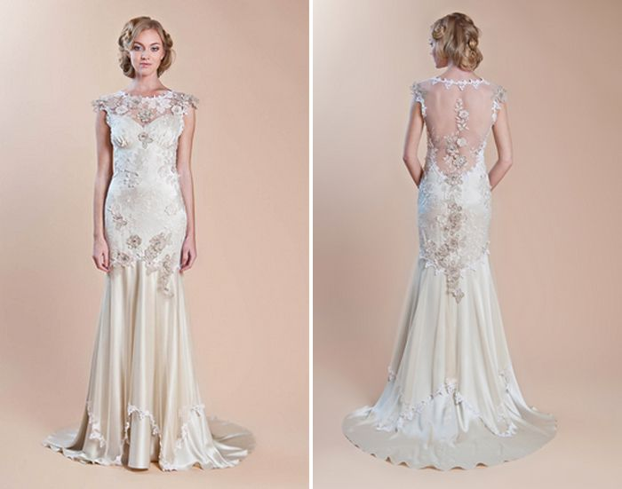 Wedding Gowns Inspired By Downton Abbey Claire Pettibone Viola Via All Sorts Of