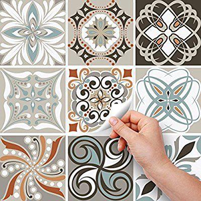 Carrelage Adhésif X Cm PS Décorations Dépoque - Stickers carrelage cuisine 15x15 pour idees de deco de cuisine