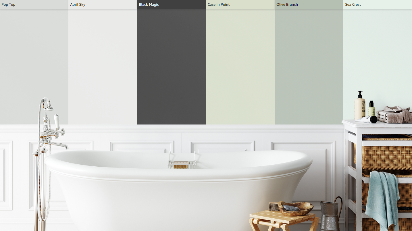 12 best paint colors for a small bathroom without windows on best paint colors for bathroom with no windows id=82194