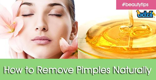 << How to Remove Pimples Naturally >>  ► http://www.adzil.in/ads/health-beauty-fitness  Tip1 : Make a honey mask:  Mix two tablespoons of honey with a teaspoon of cinnamon, and apply it over your face. Allow it to set for 5-10 minutes, and then rinse it off with warm water.  https://plus.google.com/114539057729688580039/posts/FUvPw6zyoBU