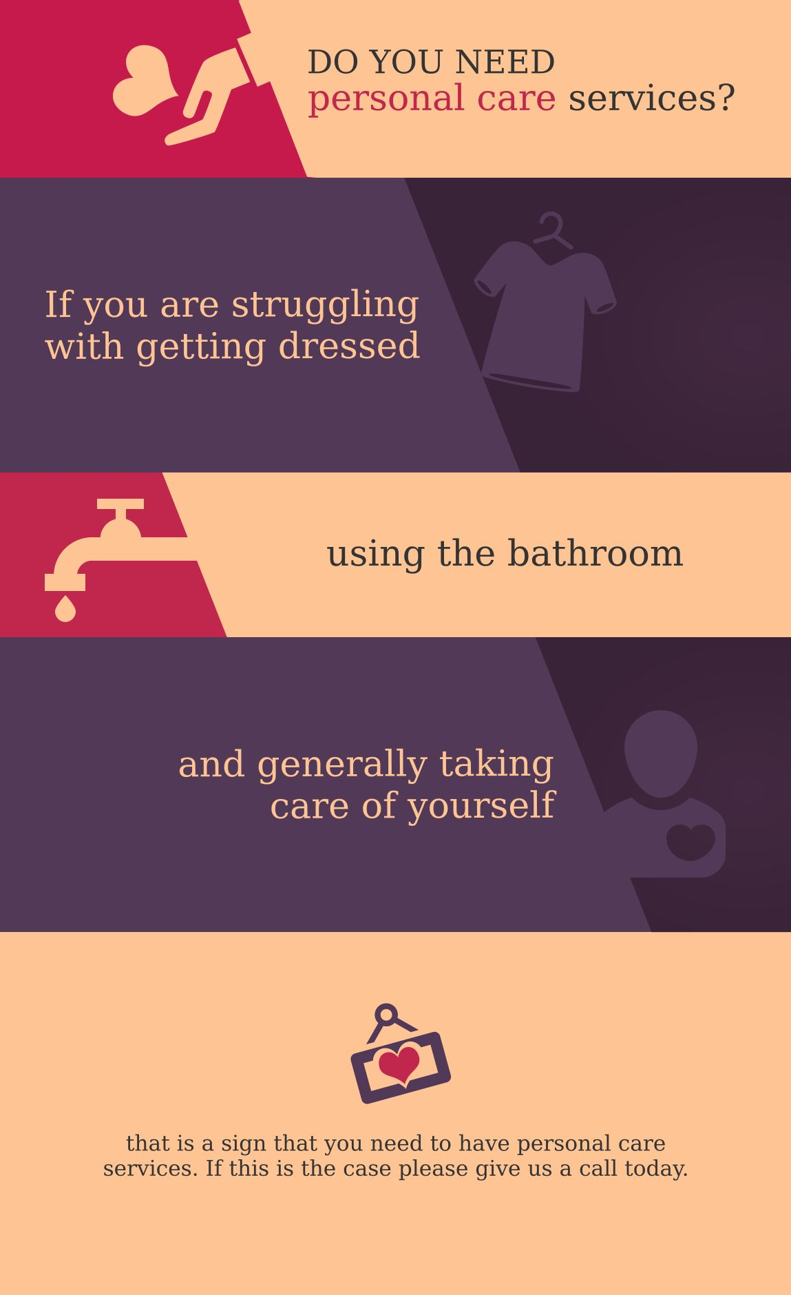 [INFOGRAPHIC] Signs that You Need Personal Care Services