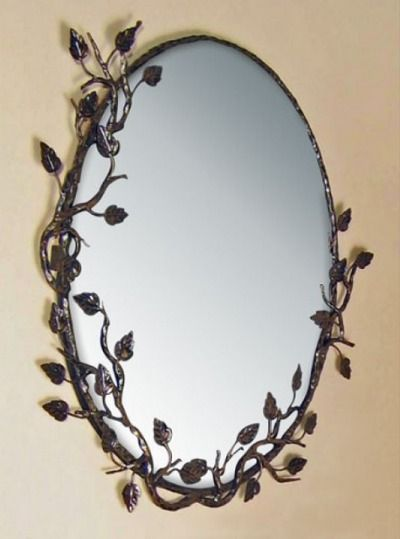If you're looking for a unique mirror to add to your home, try the unique look of the Aspen Frame Mirror.