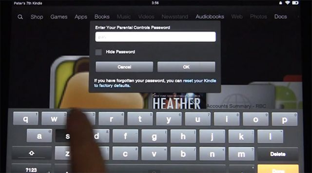 How to Configure Parental Controls on the Amazon Kindle Fire