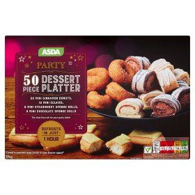 Asda 50 Piece Dessert Platter Food Online Food Shopping