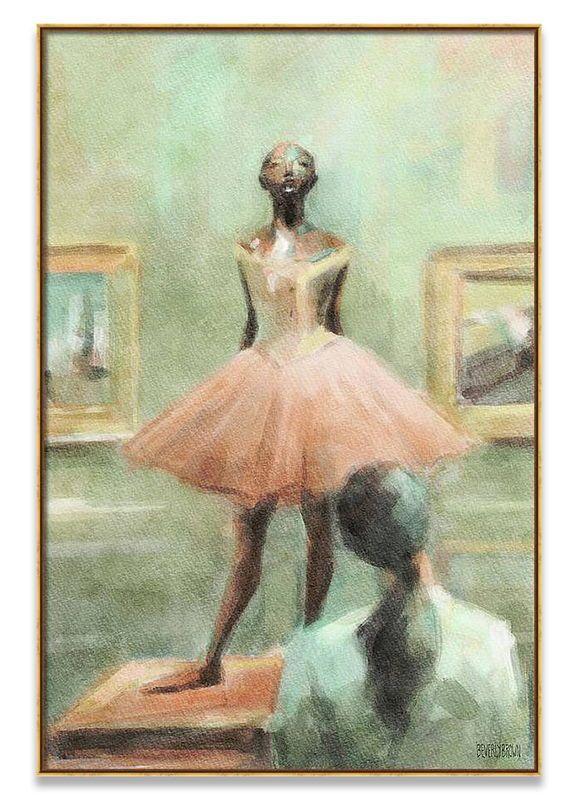 Water colour Dancing Ballet girl Canvas Prints Modern Wall Art Home Decor Dance