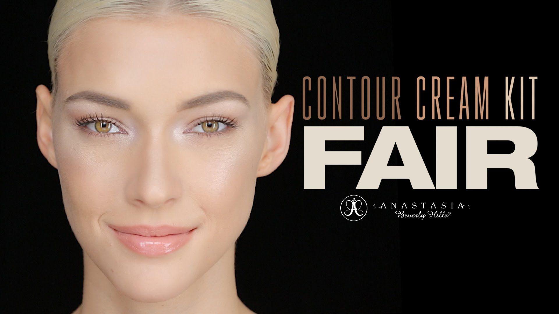 Brand new Fair Cream Contour Kit tutorial by makeup artist