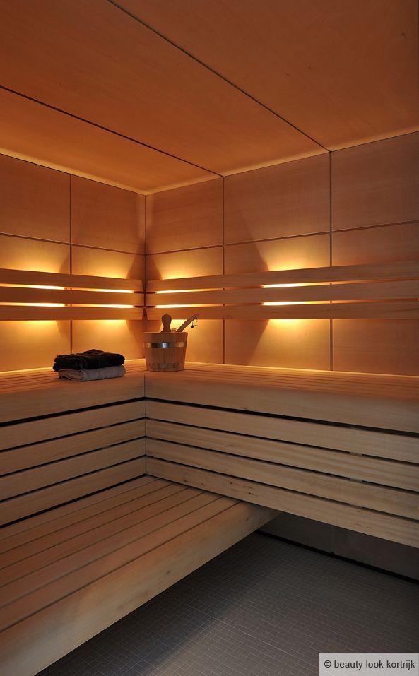 Pin Van Topluxe Op Beauty Look Badkamerdecoratie Sauna Indirecte Verlichting