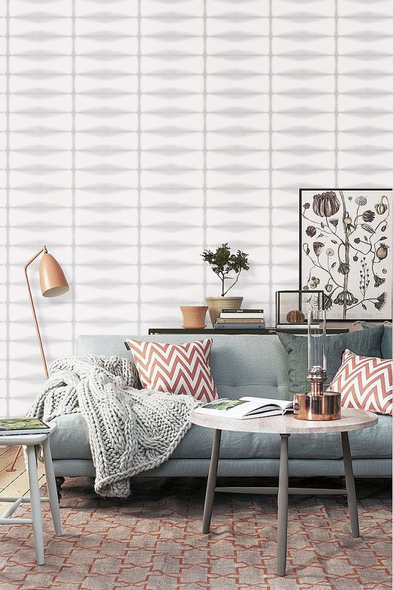 Self Adhesive Vinyl Temporary Removable Wallpaper Wall Decal 038 Snow Light Whisper