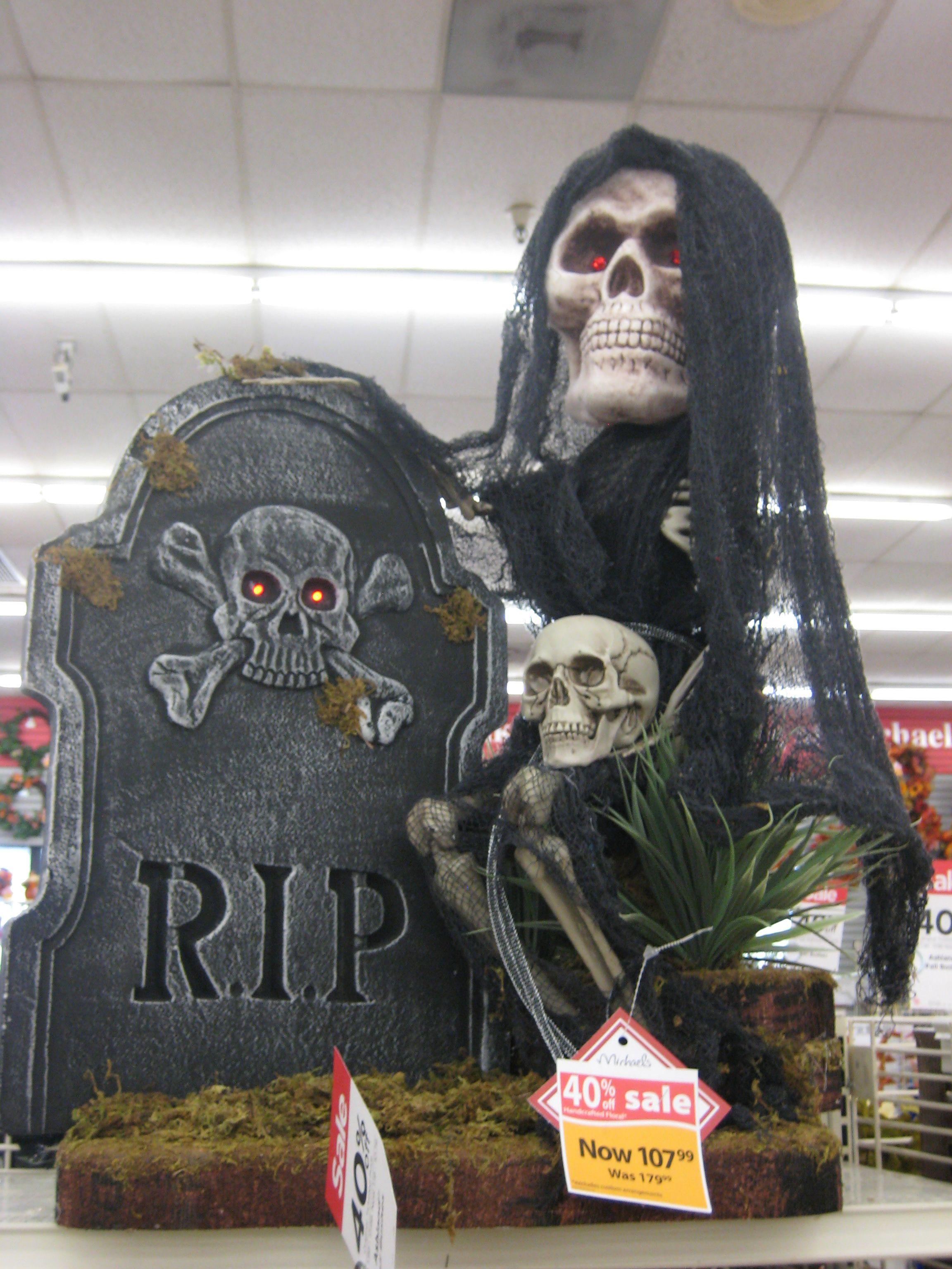 Grimm Reaper 2013-Christina Villasenor 3046 @ the Tustin Michaels - michaels halloween decorations