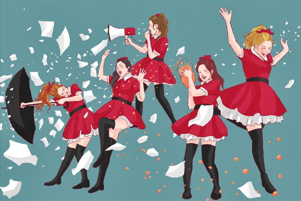 Red Velvet - Dumb Dumb by hirada-meirin.deviantart.com on @DeviantArt
