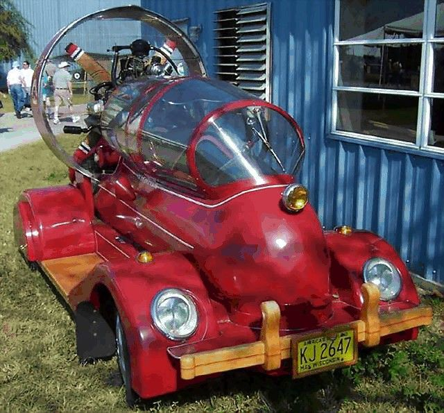 Spaceship Looking Car Funny Cars Pictures Funny Pictures With