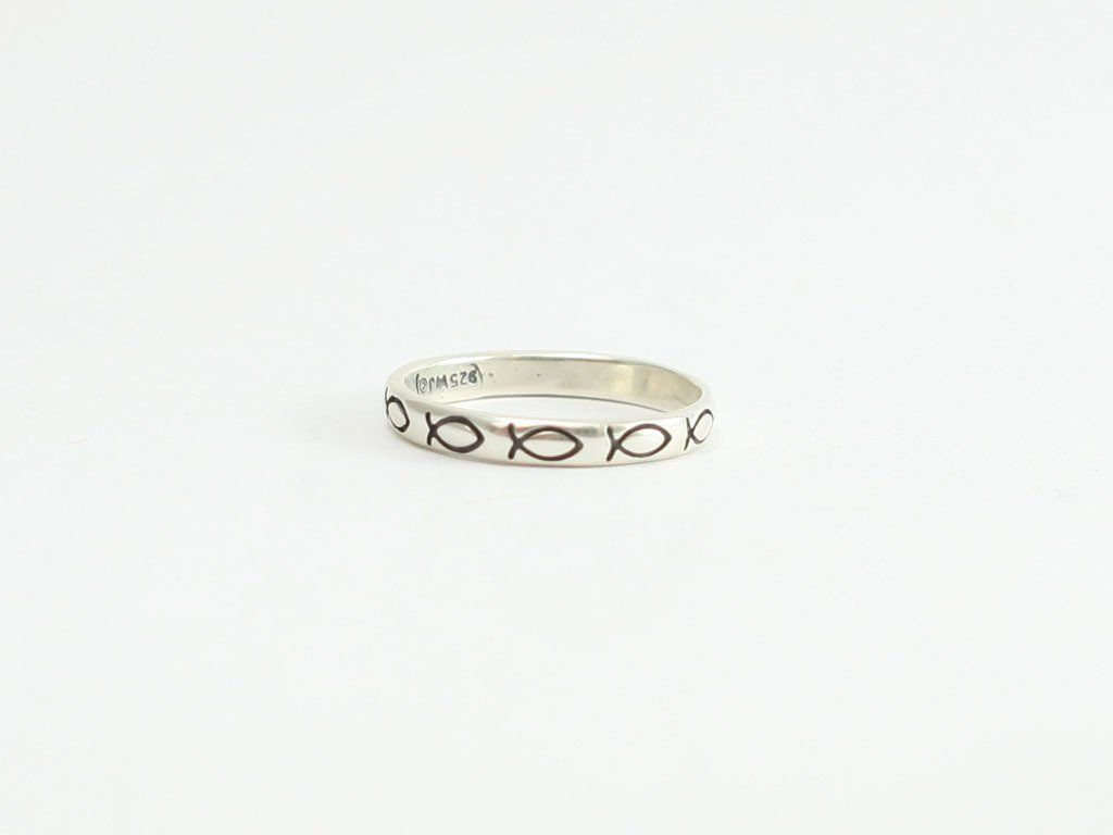 Rounded fish ichthus symbol sterling christian ring weekend sale rounded fish ichthus symbol sterling christian ring part of last weekend sale for christmas biocorpaavc Image collections