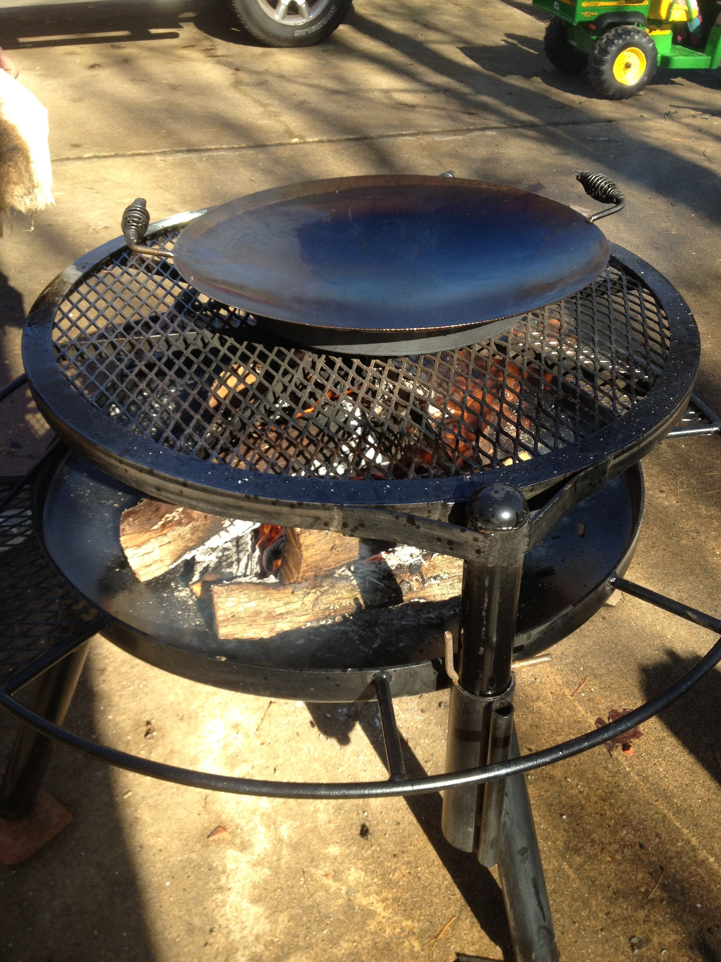 cowboy grill with wok grills pinterest cowboy grill. Black Bedroom Furniture Sets. Home Design Ideas