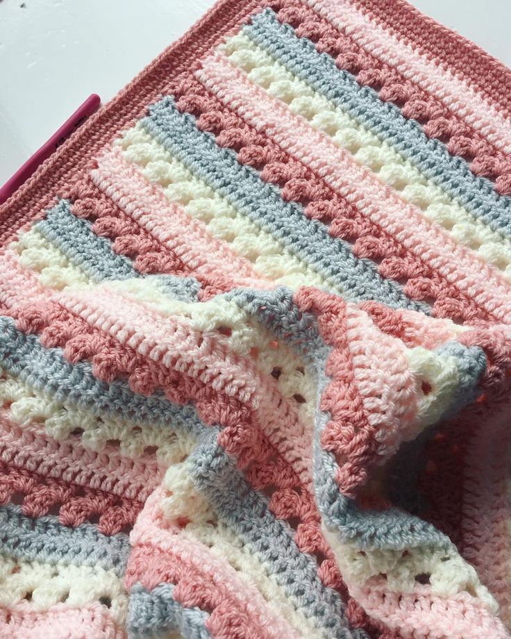 Free Crochet Baby Blanket Patterns for Beginners 2019 - Page 20 of 42 - Crochet Blog!