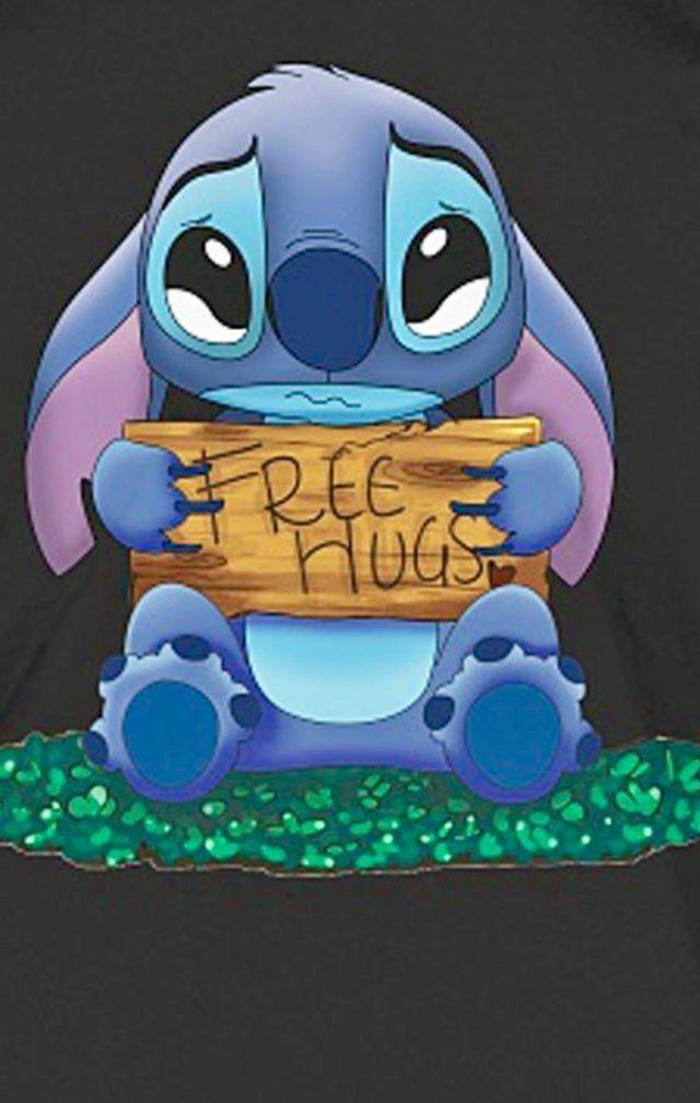 Omg Stiiiitchhhhhh Plz Dont Crrryyyy Im Herrrreeee Lilo And Stitch Lelo And Stitch Cute Disney Wallpaper