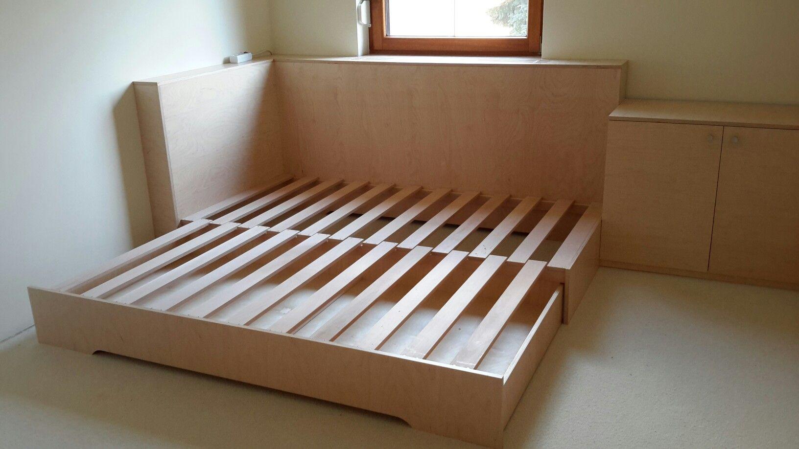 Doppelbett ausziehbar (mit Bildern) Bett holz