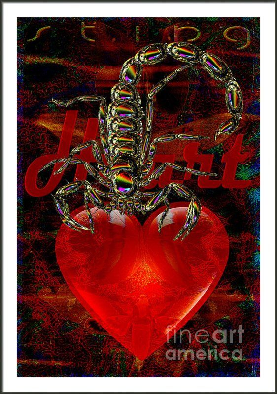 Solar Sting Of Scorpio Framed Print By Joseph Mosley http://mosletstudio.tumblr.com/post/101609717288