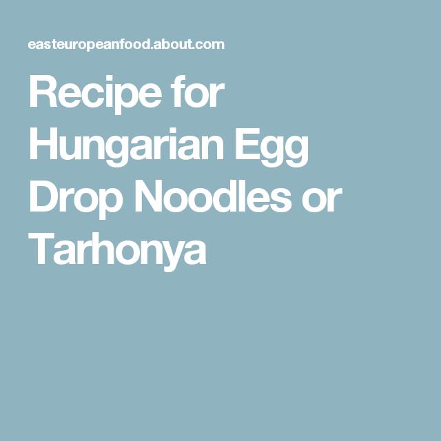 Tarhonya   Recipe   Recipes      Recipes, Noodles, Food