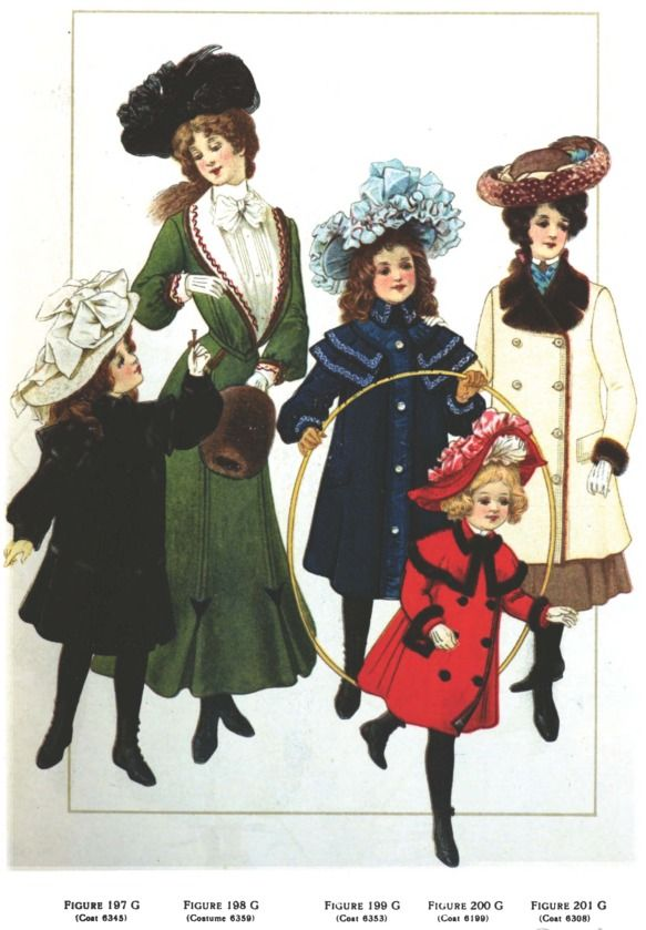 Edwardian Period | Edwardian Era Clothing: Edwardian Era Children's Fashions - November ... #edwardianperiod