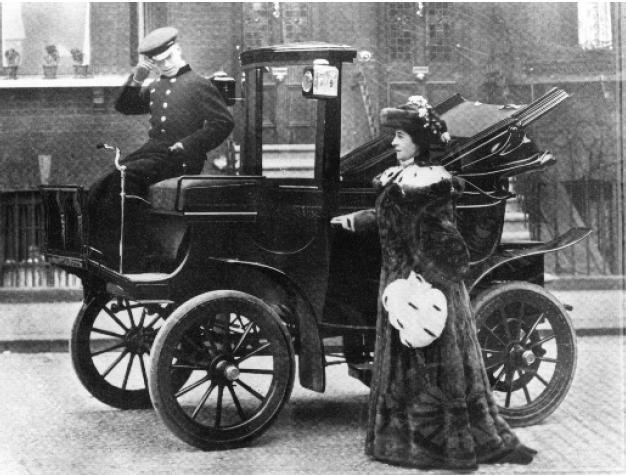 Robert Anderson Electric Carriage Per L Empresa And Wagon Company De Philadelphia
