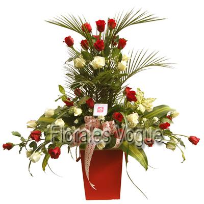 Guatemala Florales Vogue Rosas Maceta De Rosas Rosas