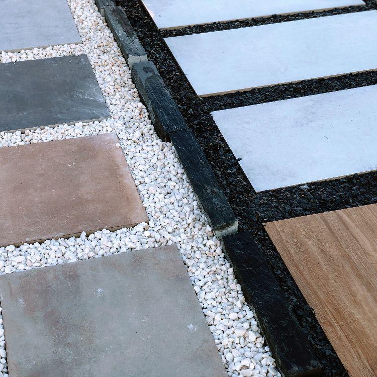 24 Losas de concreto para jardin